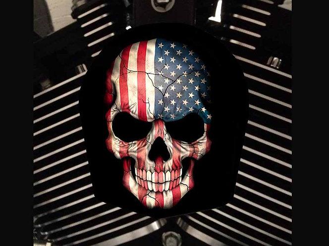 AMERICAN FLAG SKULL (HORN)