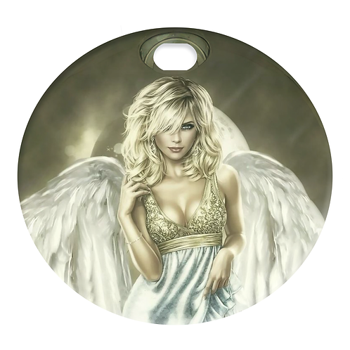 BLONDE ANGEL (FUEL DOOR)