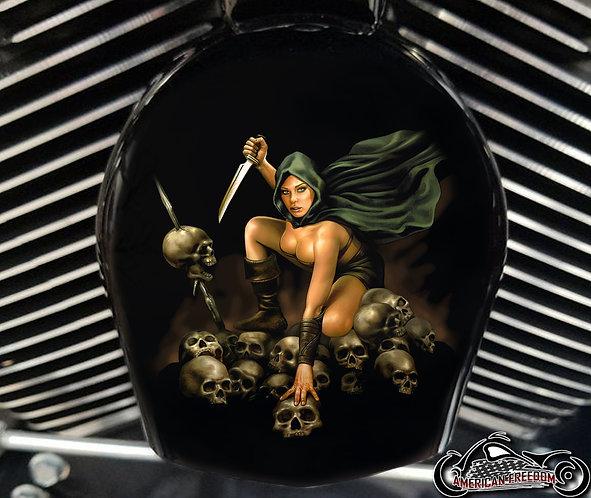 FEMALE WARRIOR (HORN)