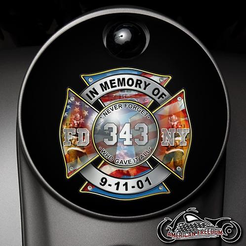 343 IN MEMORY  (FUEL DOOR)