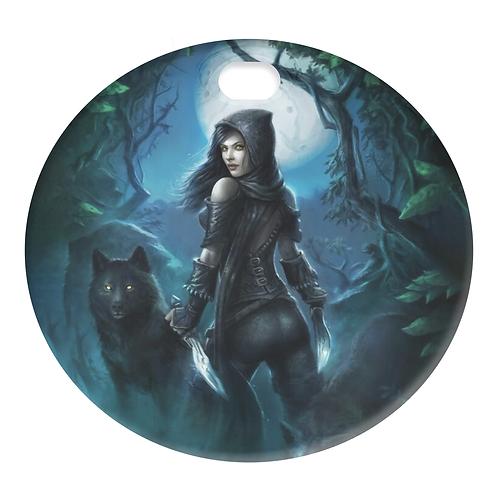 WILD WOLF GIRL (FUEL DOOR)