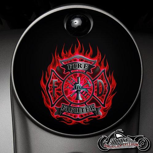 FIREFIGHTER FLAMES (FUEL DOOR)