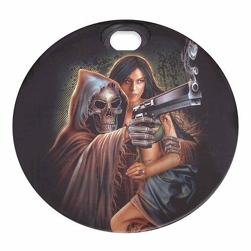 DEATH'S WOMAN (FUEL DOOR)