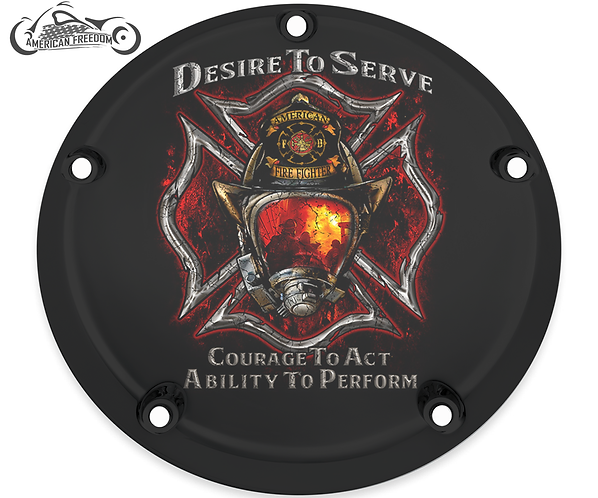 FIREFIGHTER DESIRE TO SERVE