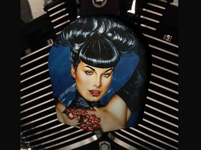 BLUE BETTIE PAGE (HORN)