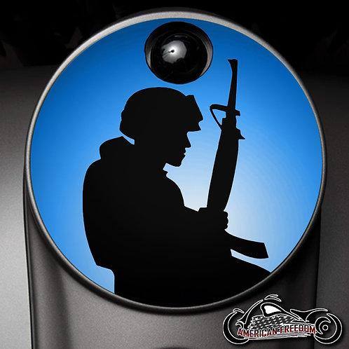 LONE SOLDIER (FUEL DOOR)