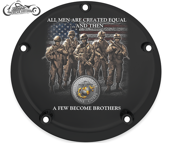 MARINES BECOME BROTHERS