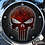 Thumbnail: PUNISHER FROZEN GRILLE (RED)