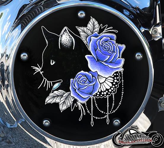 ROSES CAT (BLUE)