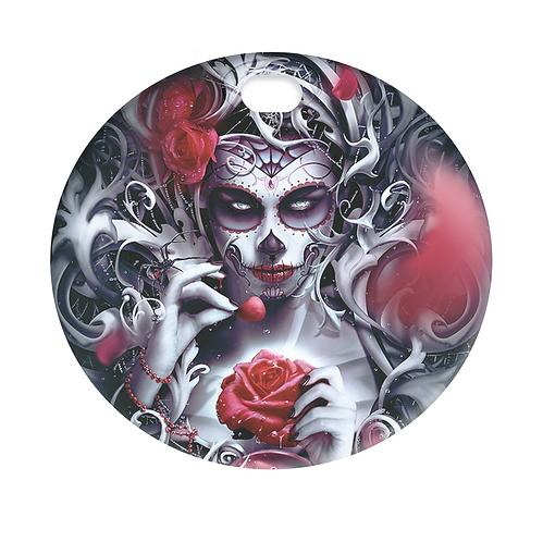 SPIDER & ROSE QUEEN (FUEL DOOR)