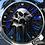 Thumbnail: SKULL CLOCK (BLUE)