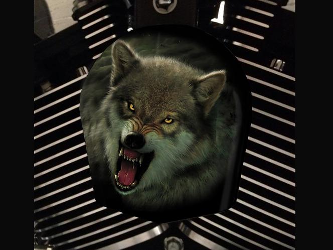 SNARLING WOLF (HORN)