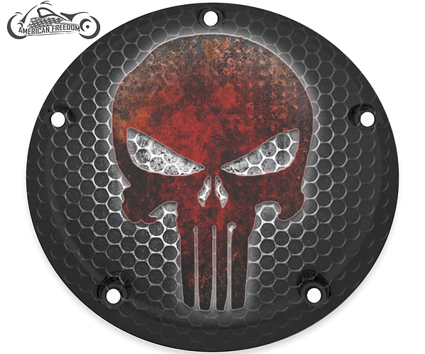 PUNISHER FROZEN GRILLE (RED)