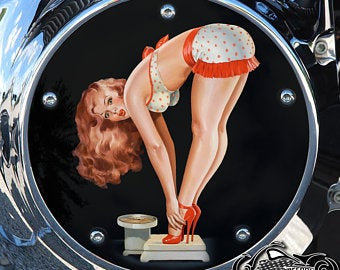 REDHEAD SCALE PIN UP