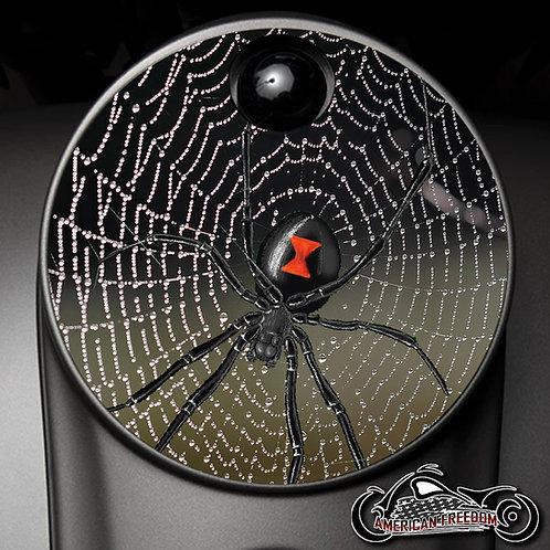 BLACK WIDOW SPIDERWEB (FUEL DOOR)