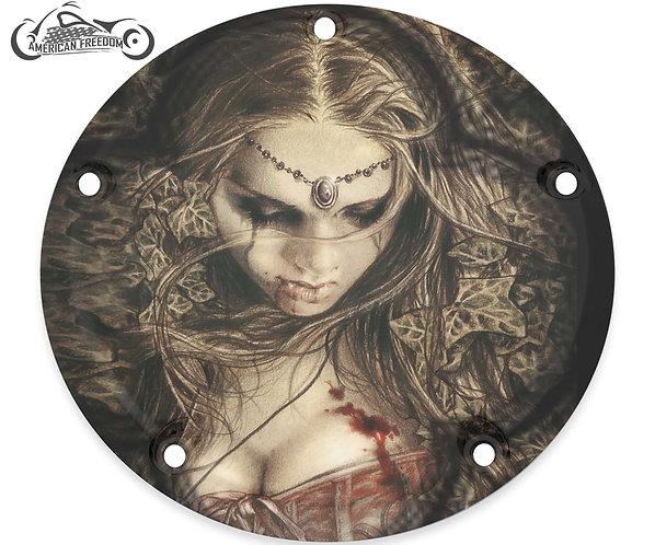 VAMPIRE GIRL IN LEAVES