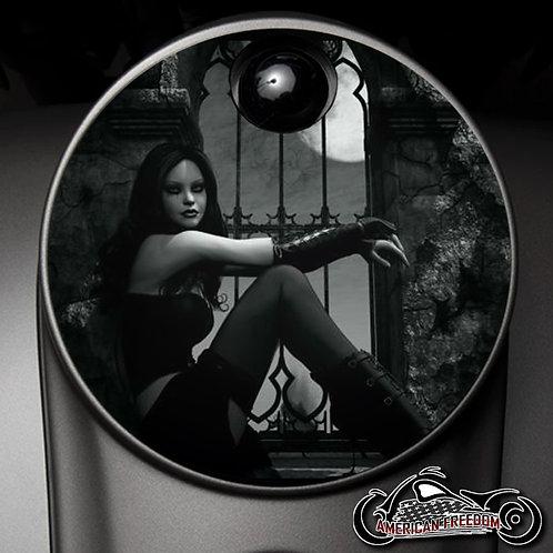 GOTHIC GIRL (FUEL DOOR)