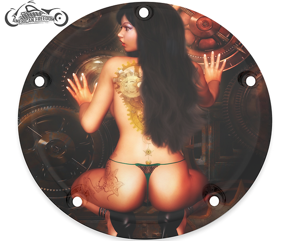 STEAMPUNK THONG GIRL
