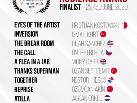 ASFF June 2020 / Finalist Announced!