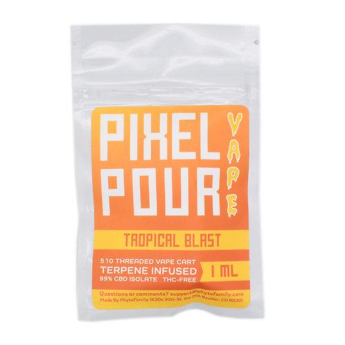 Phyto Family Pixel Pour Vape Cartridges   Tropical Blast