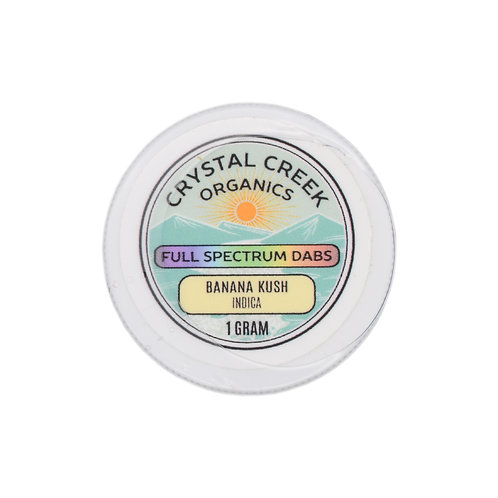 Crystal Creek Organics Full Spectrum Dabs