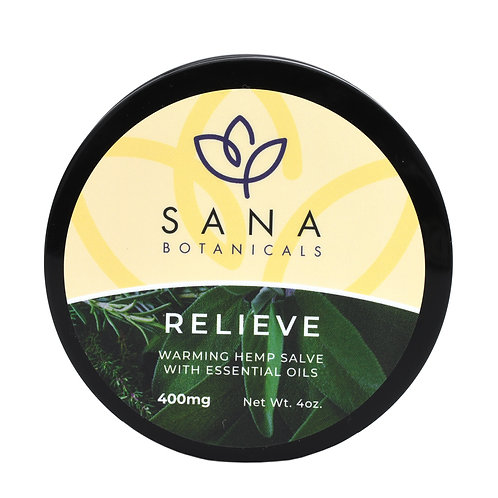 Sana Botanicals Relieve Lotion