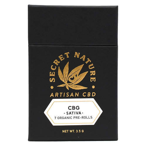 Secret Nature Pre-Rolls (7 pack) | CBG