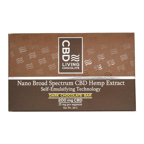 CBD Living Dark Chocolate Bar