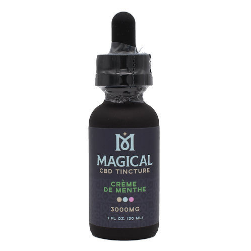 Magical CBD Tincture | Creme De Menthe