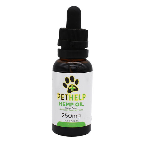 Pet Help Tinctures | Dropper Bottle