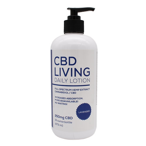 CBD Living Daily Lotion | Lavender