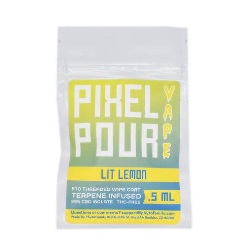 Phyto Family Pixel Pour Vape Cartridges | Lit Lemon