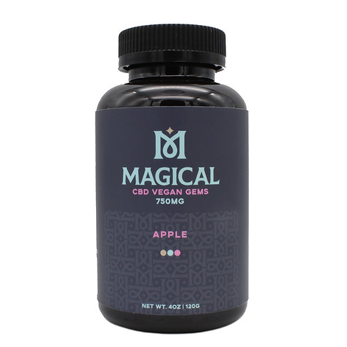 Magical CBD Vegan Gems | Apple