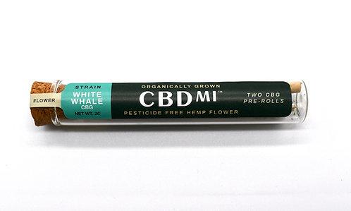 CBDMI Hemp Pre Rolls (2pk) - CBG