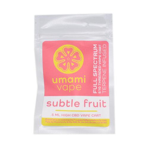 Phyto Family Umami Vape Cartridge | Subtle Fruit