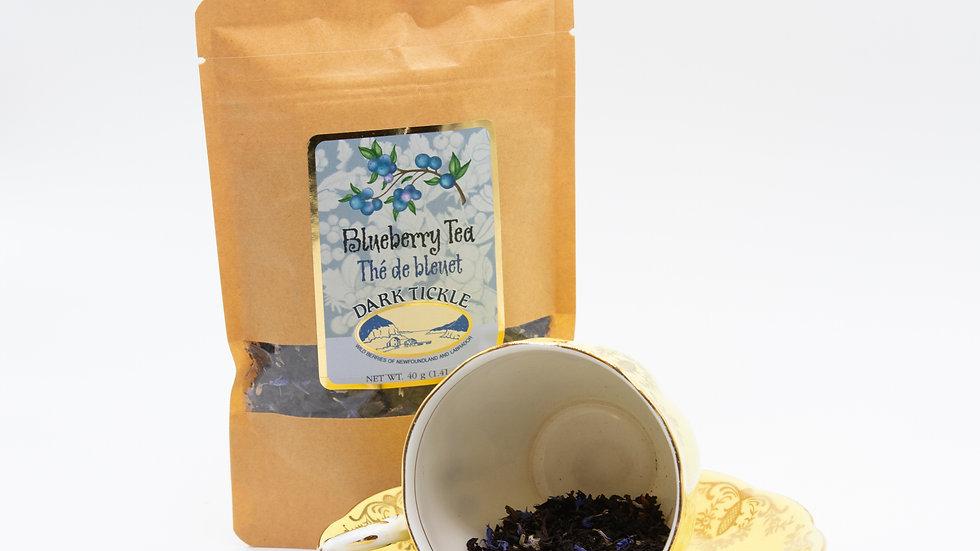 Blueberry loose leaf tea