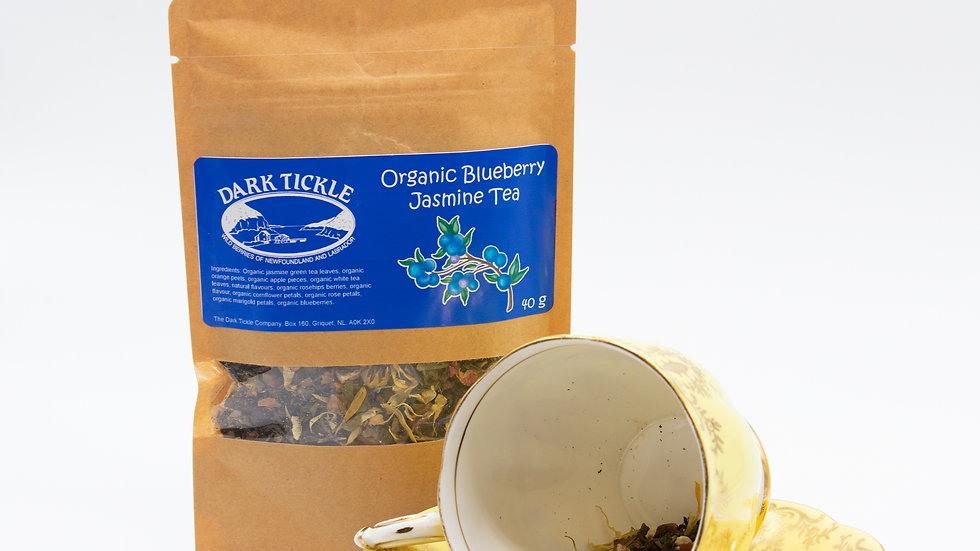 Jasmine Blueberry loose leaf tea