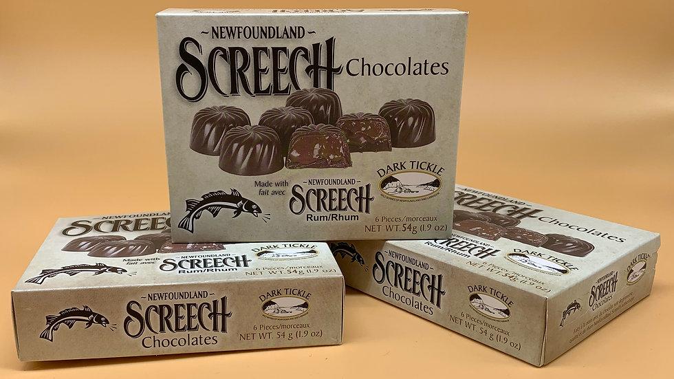 Screech Chocolates