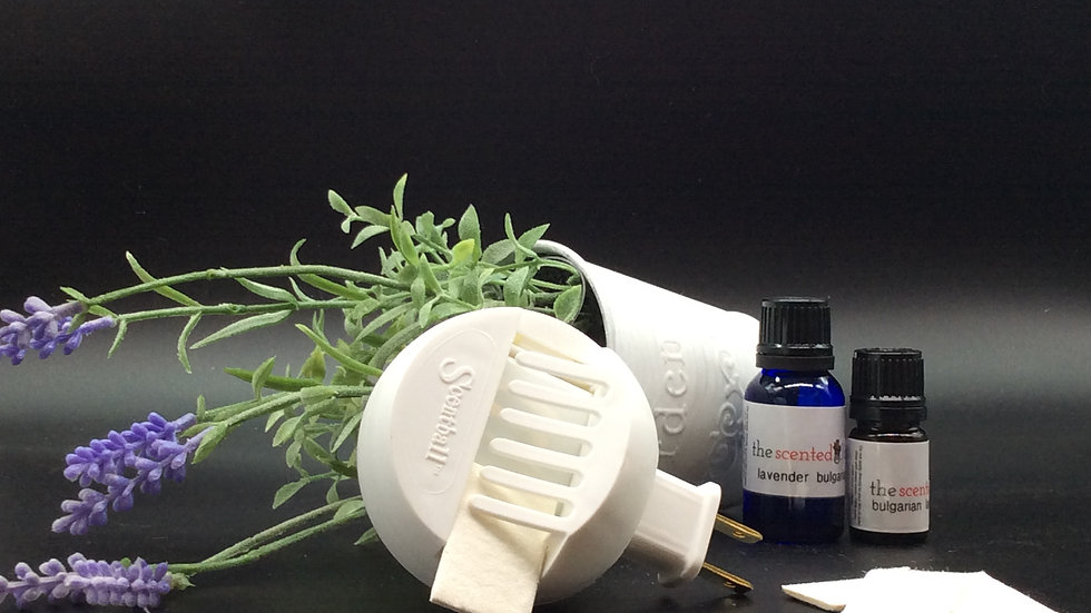 Aromaball Diffuser with 5 pads and your choice of scent