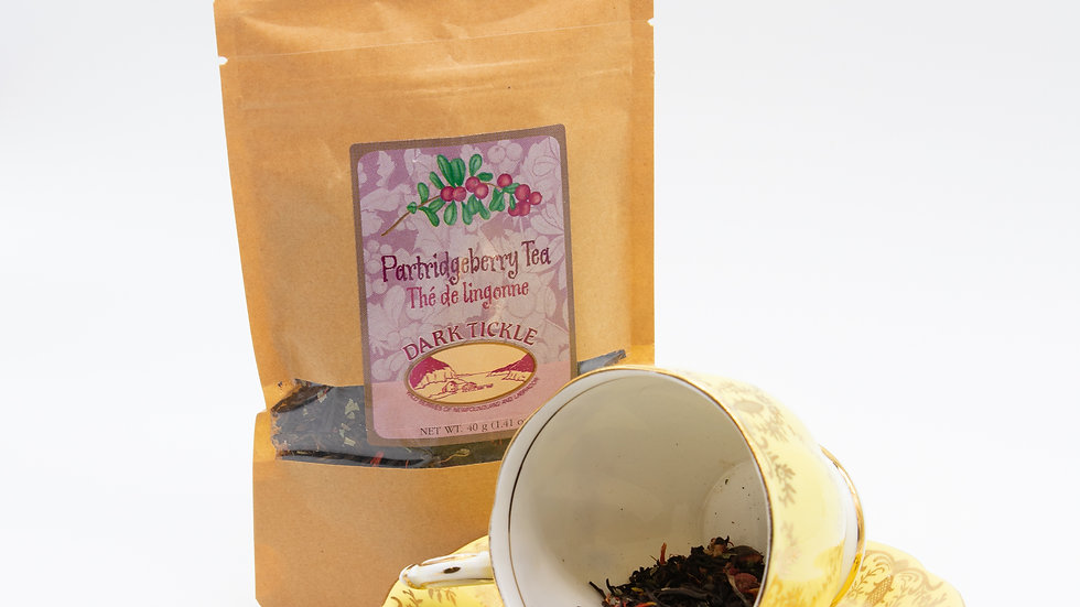 Partridgeberry loose leaf tea