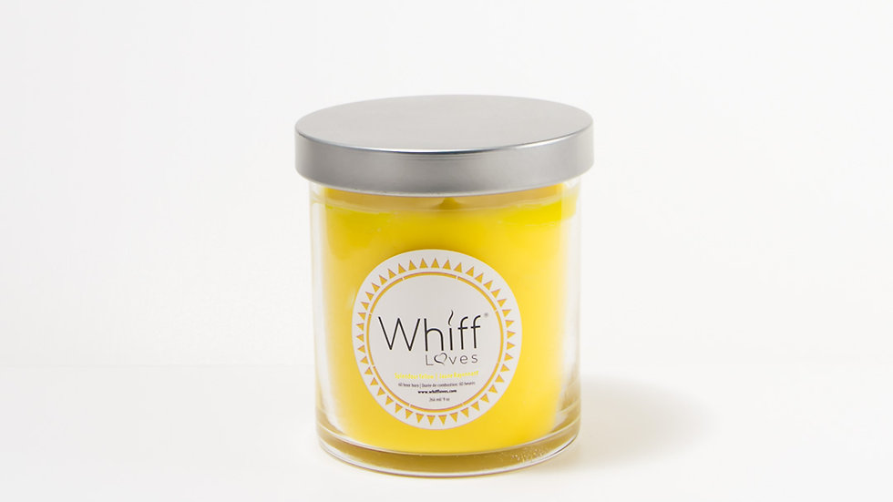 Vegan Candle of Slendour Yellow