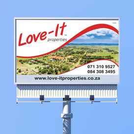 Love-It Properties Billboard