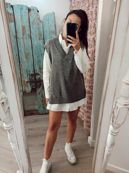 chaleco grey