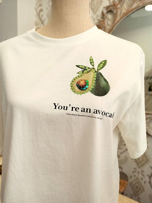 camiseta avocado