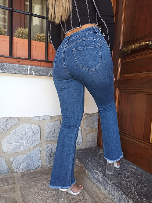 jeans push Up flare