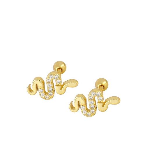 pendiente snake piercing unidad