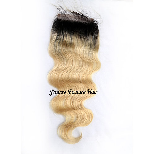 Blonde and Boujee Lace Closures