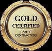 Gold Certified Transparent Background.pn