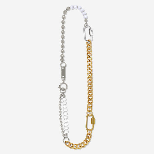 Collier mix 3 bracelets gold