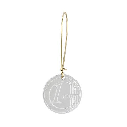 Earring 1€ COIN